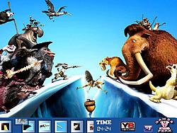 Hidden Spots Ice Age 4 oyunu