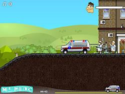 無料ゲームのAmbulance Truck Driverをプレイ