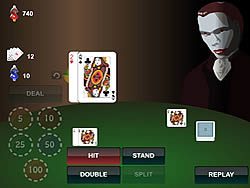 Blackjack With Vampire
