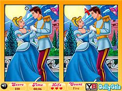 無料ゲームのCinderella & Prince 6 Diff Funをプレイ