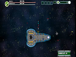 Game Deep Space Barrage