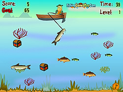 Lucky Fisherman игра