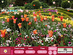 Flower Garden-Hidden Objects game