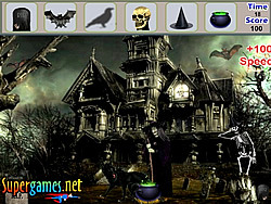 gra Scary Palace Hidden Objects