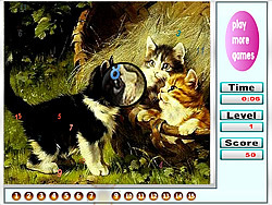 Naughty Cats Hidden Numbers