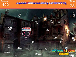 Game Scary Palace Hidden Alphabets