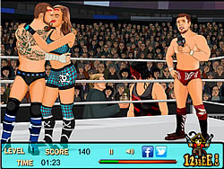 Game Kissing Wrestlers