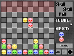Skull Skull Fall παιχνίδι