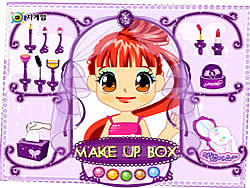 Make-up Box game