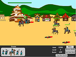 Samurai Defense game
