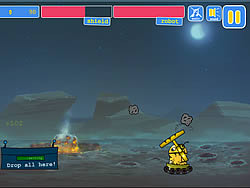 Spielen Sie das Gratis-Spiel  Meteoroid