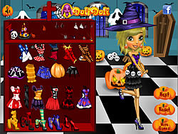 Game Halloween Doli Party