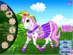 Game Happy pony dress up