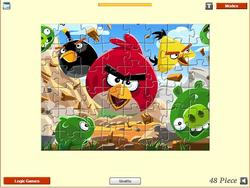 Game Angry Birds - Jigsaw