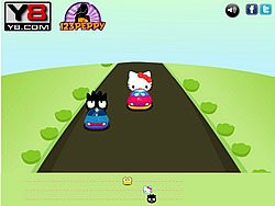 Hello Kitty Car Race игра