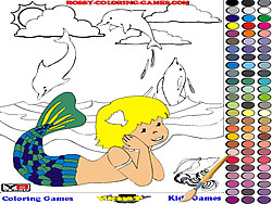 Mermaid Coloring jeu