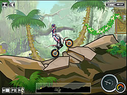 gra Jungle Moto Trial