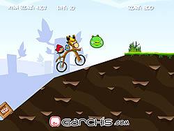 無料ゲームのAngry Birds Bike Revengeをプレイ