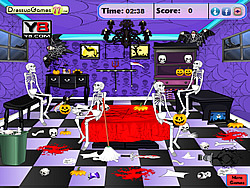 Game Halloween Cleanup