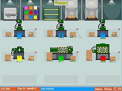 Factory Rush Game