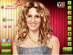Makeover Beautiful Shakira