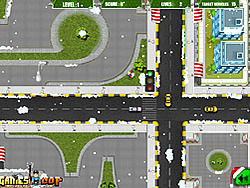 Christmas Traffic game
