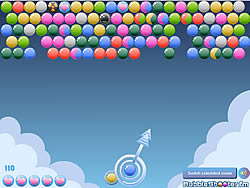 Cloudy Bubbles game