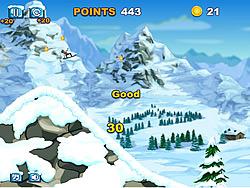 Spielen Sie das Gratis-Spiel  Avalanche Stunts Game