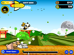 Rocket Panda : Flying Cookie Quest oyunu
