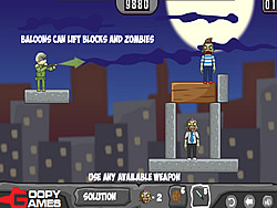 Game Balloons Vs Zombies