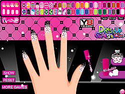 Game Draculaura's Manicure