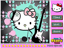 Hello Kitty Hidden Stars oyunu