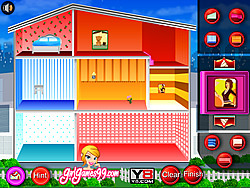 doll house decoration game - House Decorating Games