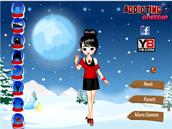 Game Fashion Winter Dress Up'