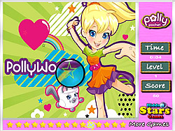 Polly Pocket Hidden Stars game
