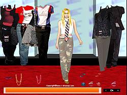 Avril Lavigne Dress up