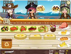 Pirate Seafood Restaurant oyunu