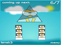 Penguin Stack game