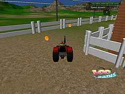 Game Tractor in Farm
