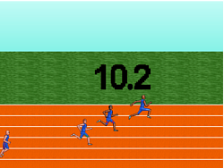 Barack Obama's 100meter Dash game