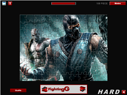 Game Kombat Hero Puzzle