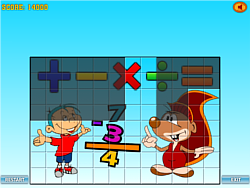 Game PicTrix Math