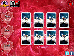 Valentine Cards Match oyunu