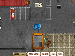Broken Cars Parking game
