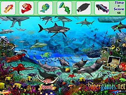 Permainan Underwater Fish Hidden Object