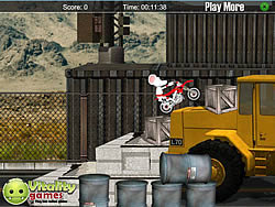 Game Stunt Moto Mouse