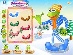 Game Leggy Frog