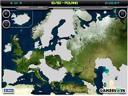 Europe Map Test