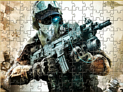 Urban Soldier Jigsaw