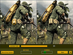 Soldiers in War Difference game